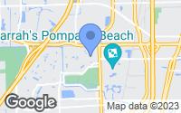Map of Pompano Beach, FL