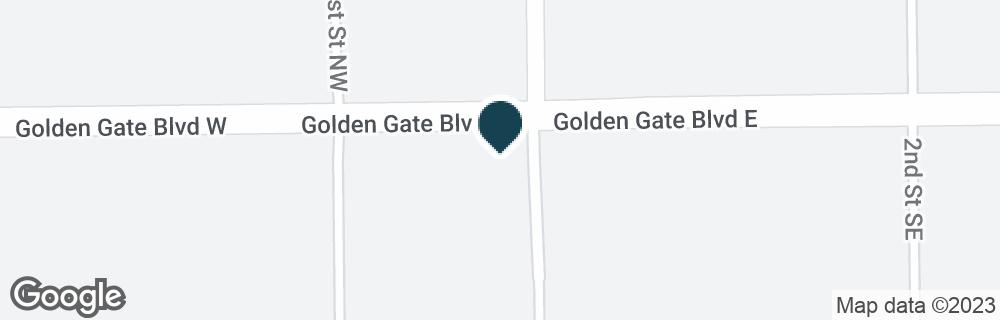 Google Map of30 GOLDEN GATE BLVD W