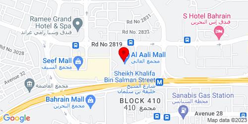 Google Map of 26.23311, 50.54041