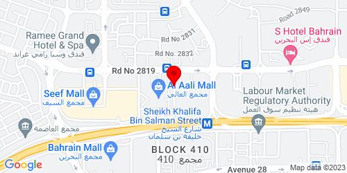 Google Map of 26.233598, 50.541404