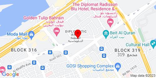Google Map of 26.239744, 50.587653