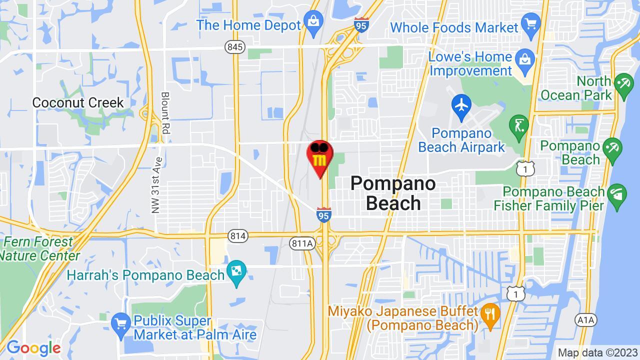 Google Map of Pompano Beach Pest Control