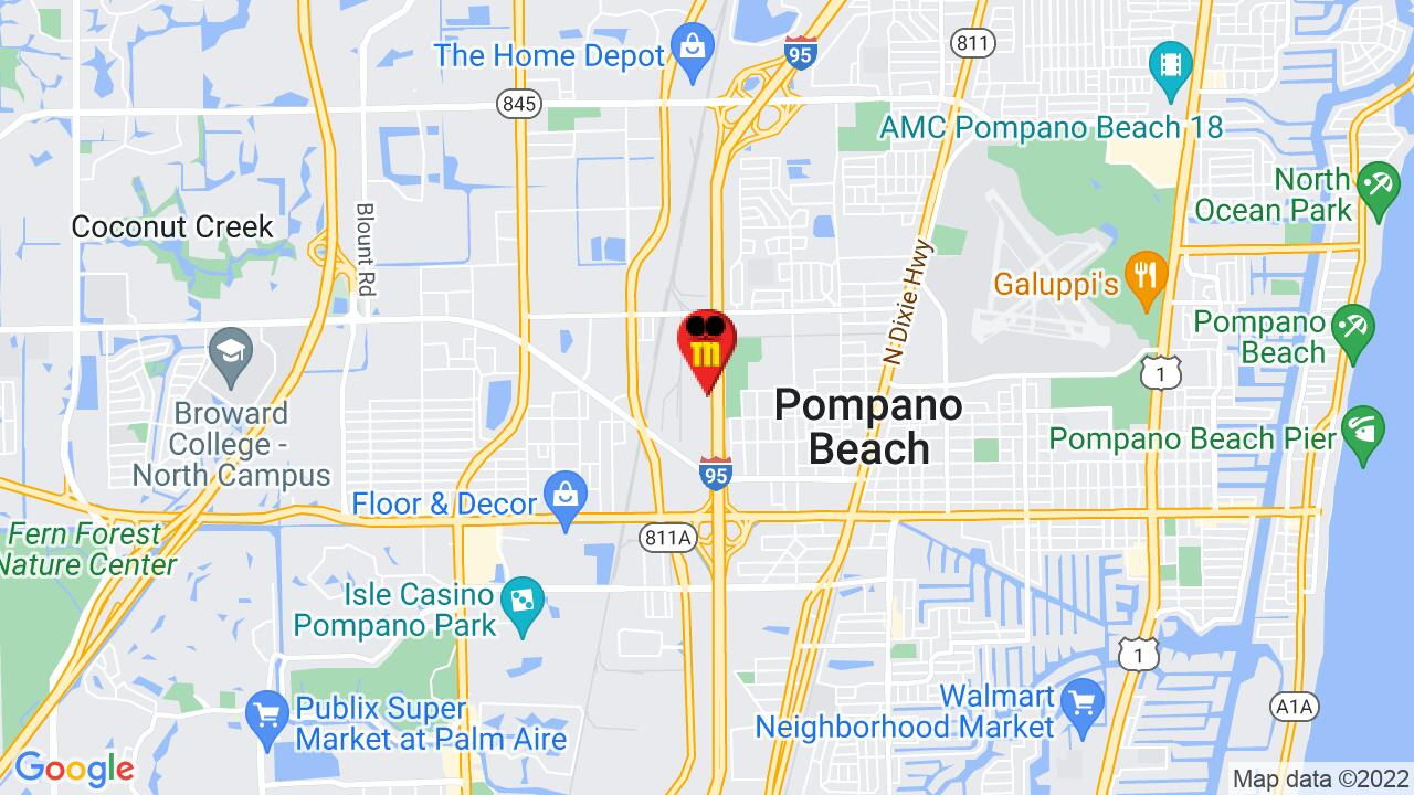 Google Map of Pompano Beach Pest Control