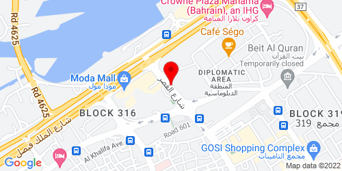 Google Map of 26.239922, 50.584198