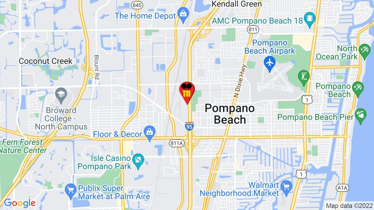 Google Map of Broward Commercial Pest Control