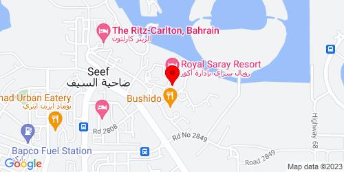 Google Map of 26.241446, 50.542579