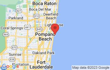 Map of Pompano Beach