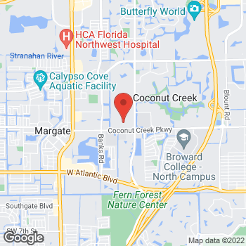 Map of Hair Cuttery at 4857 Coconut Creek Pkwy, Coconut Creek, FL 33063