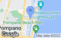Map of Pompano Beach, FL