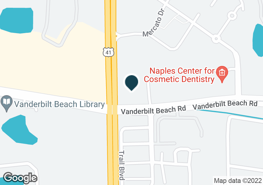 Google Map of8900 TAMIAMI TRL N