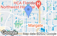 Map of Margate, FL