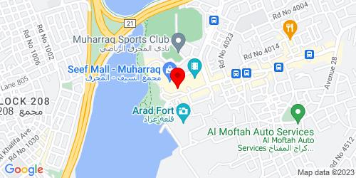 Google Map of 26.254356,50.626888