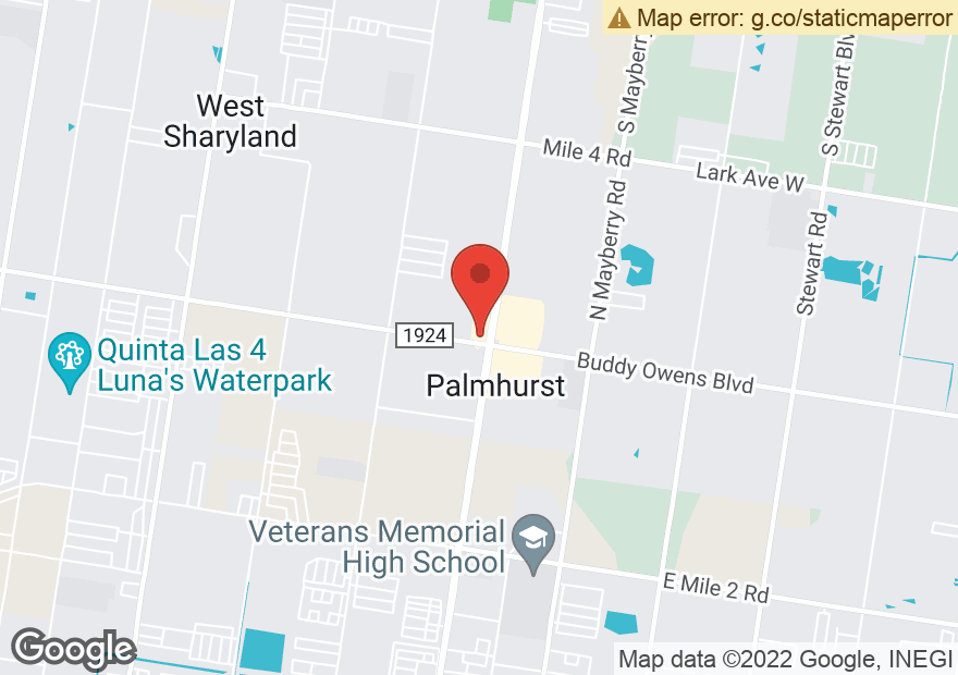 Google Map of 4305 N CONWAY AVE