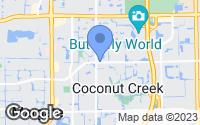 Map of Coconut Creek, FL