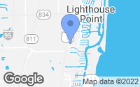 Map of Lighthouse Point, FL