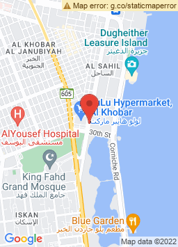 Google Map of جولدن توليب ألخبر