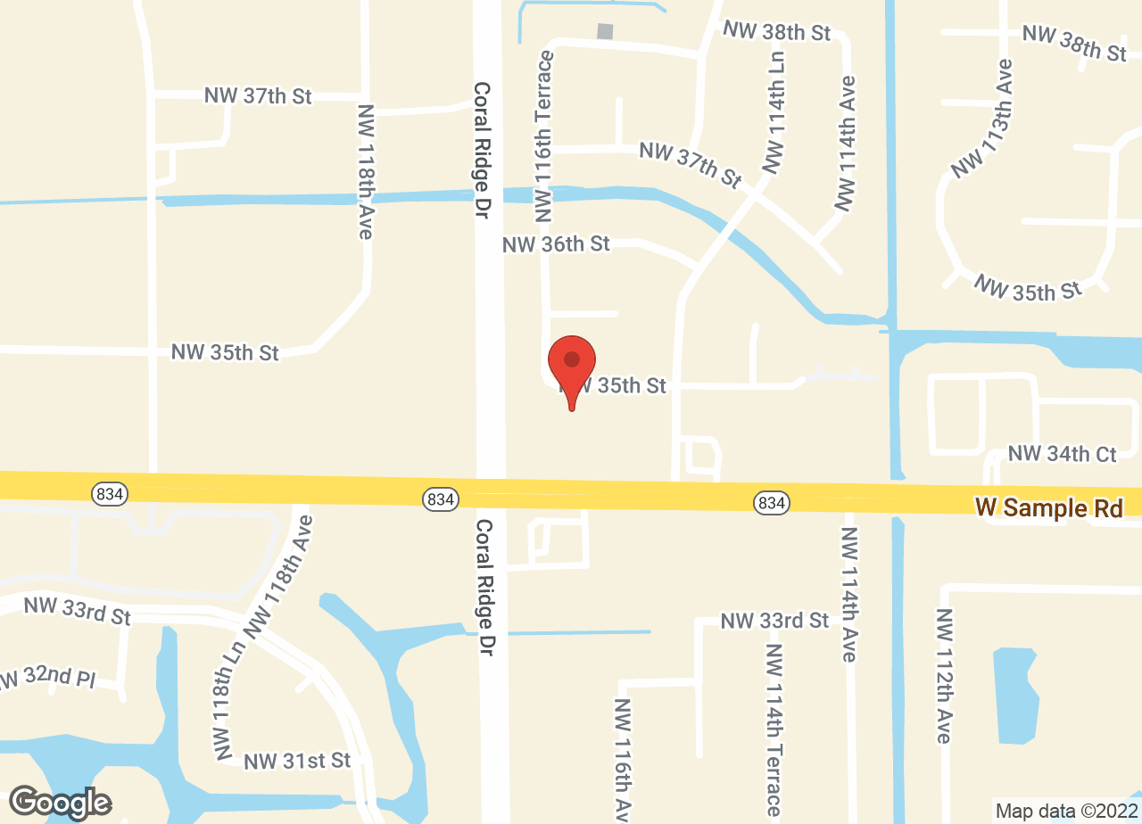 Google Map of VCA Coral Springs Pet Resort and Medical Center