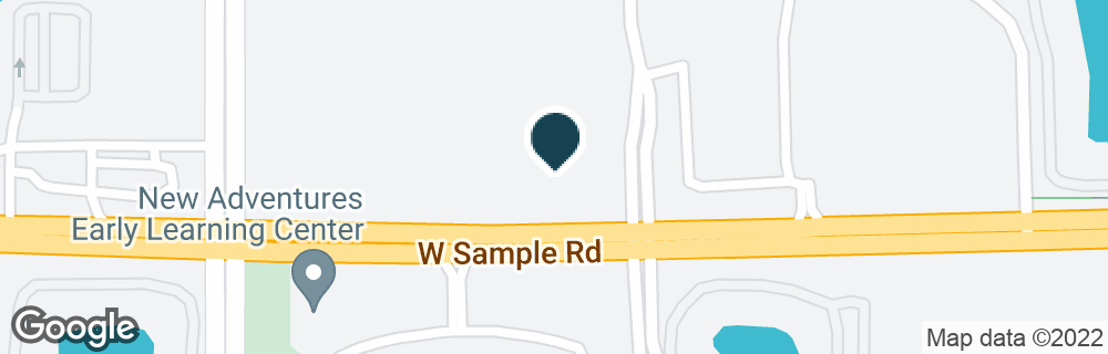 Google Map of4351 W SAMPLE RD