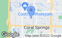 Map of Coral Springs, FL