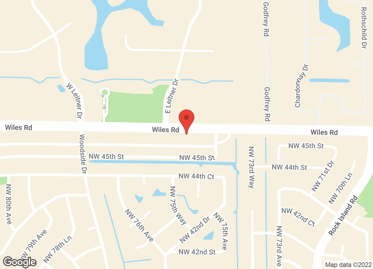 Google Map of VCA Wiles Road Animal Hospital