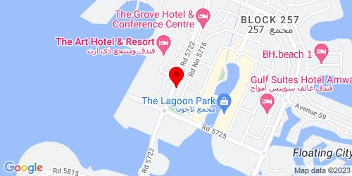 Google Map of 26.288331, 50.660673