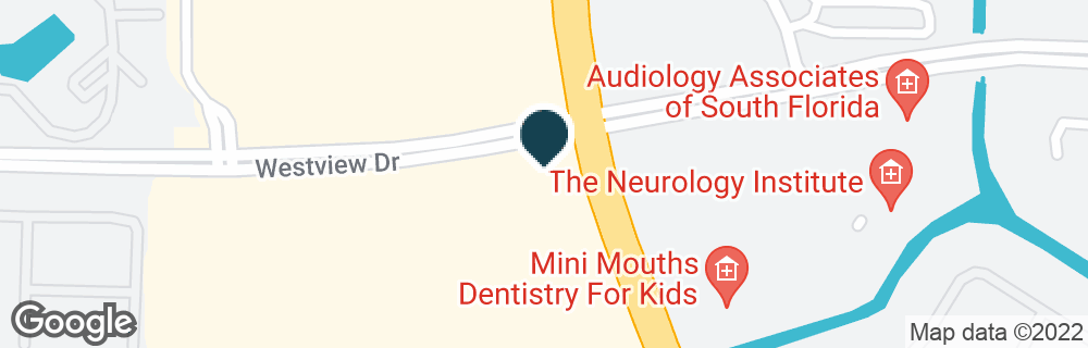 Google Map of5480 N UNIVERSITY DR