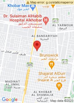 Google Map of فندق إنتركونتينينتال الخبر
