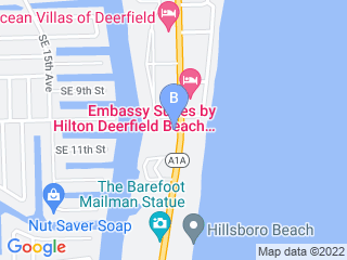 Map of Pooch n Pals Pet Sitting Service Dog Boarding options in Hillsboro Beach | Boarding