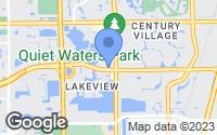 Map of Deerfield Beach, FL
