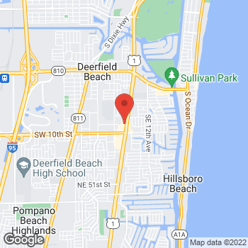 Map of Panera Bread at 779 South Federal Highway, Deerfield Beach, FL 33441