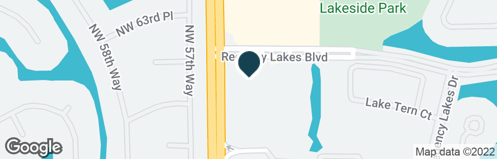 Google Map of6390 N STATE ROAD 7