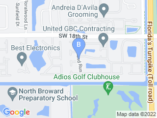 Map of WeLoveYourDogs Dog Boarding options in Boca Raton | Boarding