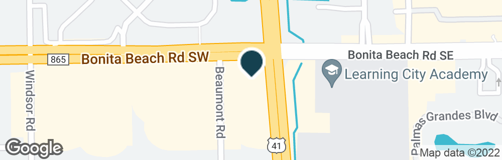 Google Map of28100 S TAMIAMI TRL