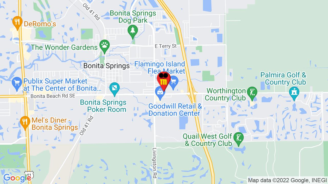 Google Map of Estero Pest Control