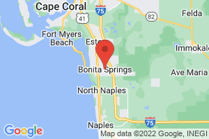 Map of Bonita Springs