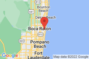 Map of Boca Raton