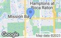 Map of Boca Raton, FL