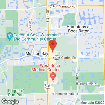 Map of Bed Bath & Beyond at 20560 State Road 7, Boca Raton, FL 33498