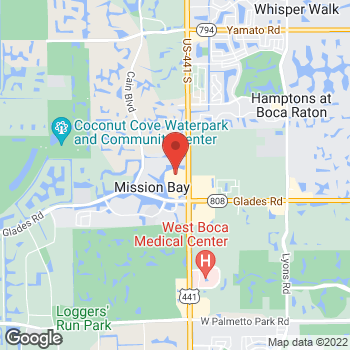 Map of Tuesday Morning at 20415-A S.R. 7, Boca Raton, FL 33498