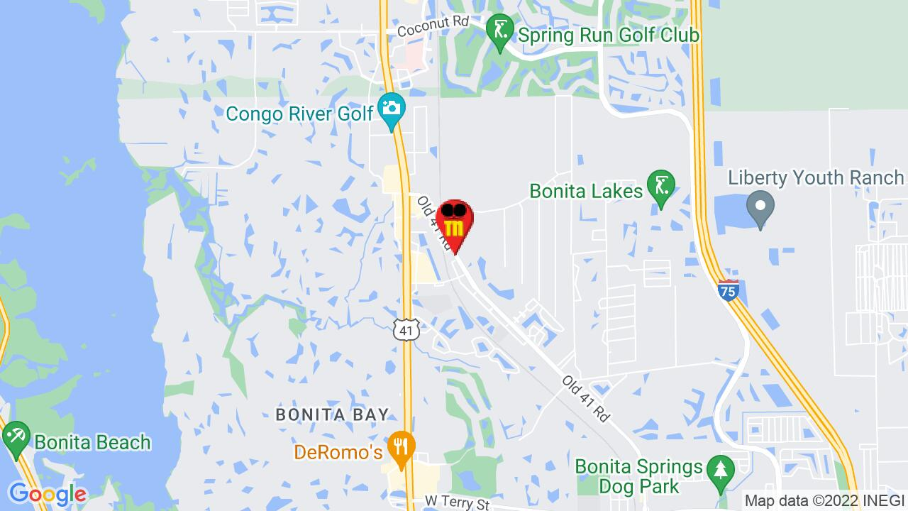 Google Map of Bonita Springs Pest Control