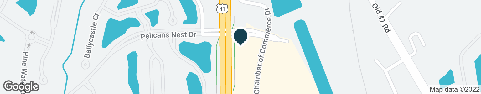 Google Map of25091 S. TAMIAMI TRAIL
