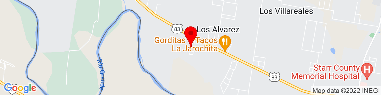 Google Map of 26.384848, -98.9090104