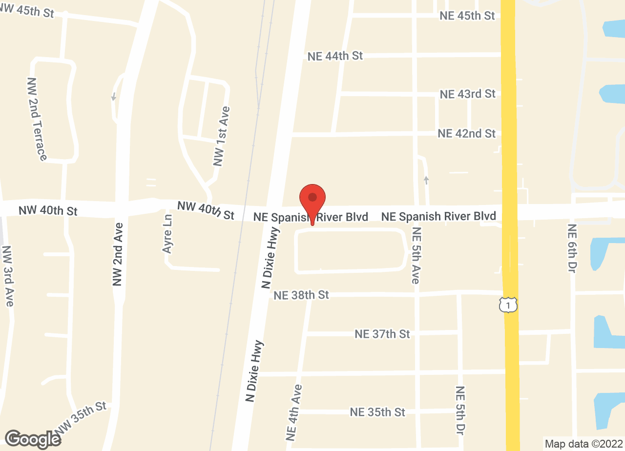 Google Map of VCA Spanish River Animal Hospital