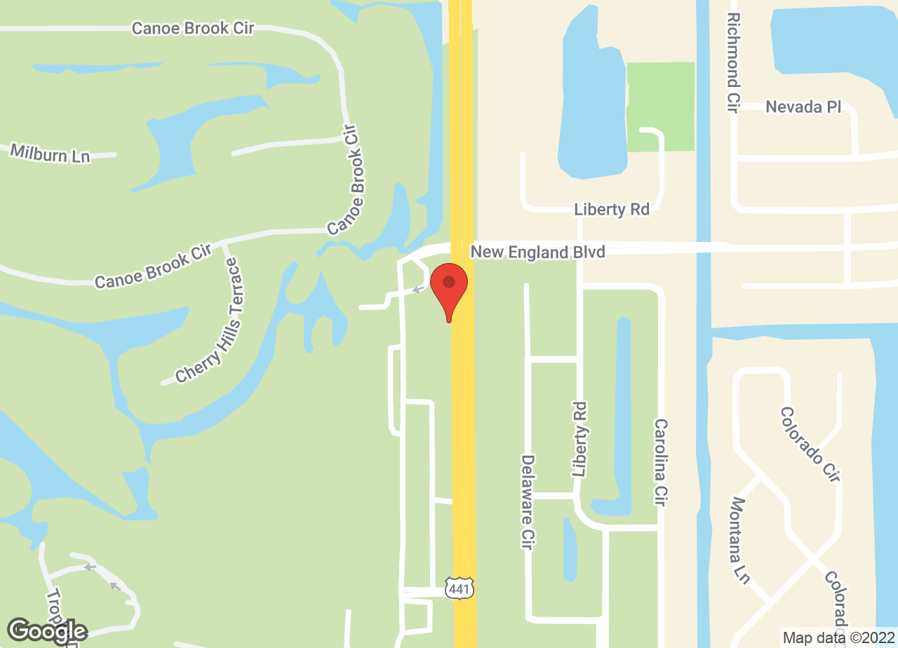 Google Map of VCA Boca Greens Animal Hospital