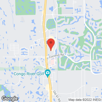 Map of Michael Kors at 23160 Fashion Drive, Estero, FL 33928