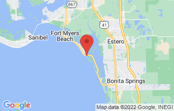 Map of Fort Myers Beach
