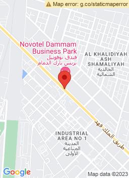 Google Map of نوفوتل بيزنس بارك الدمام