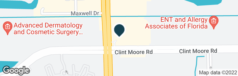 Google Map of1851 CLINT MOORE RD