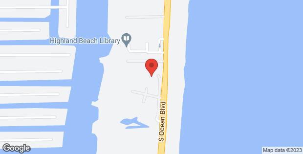 3700 S Ocean Boulevard #101b Highland Beach FL 33487