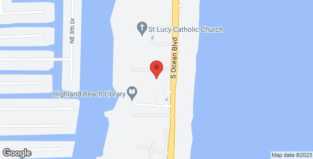 3606 S Ocean Boulevard #103 Highland Beach FL 33487